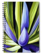 Purple Cactus Spiral Notebook