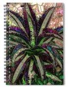 Purple Cactus II Spiral Notebook