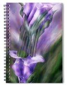 Purple Callas In Calla Vase Spiral Notebook