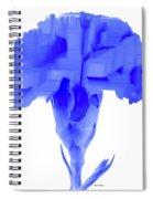 Purple Carnation Spiral Notebook