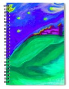 Purple Castle By Jrr Spiral Notebook
