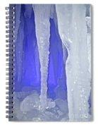 Purple Cave Spiral Notebook