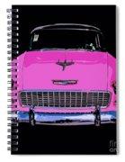 Purple Chevy Pop Art Spiral Notebook