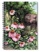Purple Coneflowers Spiral Notebook
