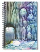 Purple Coral Spiral Notebook
