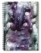 Purple Coral2 Spiral Notebook