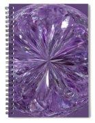 Purple Crystal Gem Spiral Notebook