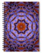 Purple Design 2 Spiral Notebook