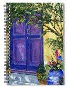 Purple Door Spiral Notebook