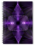 Purple Fingerz Spiral Notebook