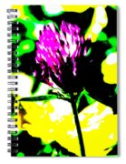 Purple Flower  Spiral Notebook