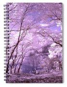 Purple Forest Spiral Notebook
