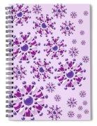 Purple Gems Spiral Notebook