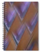 Purple Geometry - Abstract Spiral Notebook