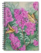 Purple Haze Cafe Spiral Notebook
