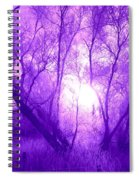 Purple Haze Spiral Notebook