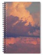 Purple Heavens Spiral Notebook