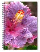 Purple Hibiscus Spiral Notebook