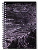Purple Ice Spiral Notebook