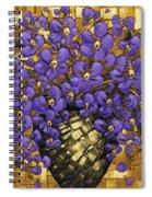 Purple In The Warm Glow Spiral Notebook