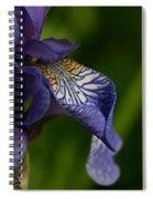 Purple Iris Spiral Notebook