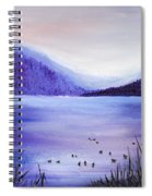 Purple Magic Spiral Notebook