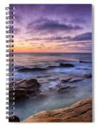 Purple Majesty No Mountain Spiral Notebook