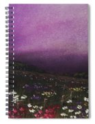 Purple Meadow Spiral Notebook