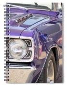 Purple Mopar Spiral Notebook