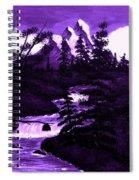 Purple Mountain Spiral Notebook
