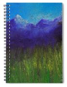 Purple Mountains By Jrr Spiral Notebook