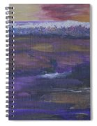 Purple Ocean Spiral Notebook