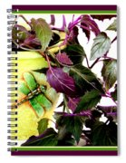 Purple Passion In The Sunshine Spiral Notebook