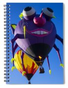 Purple People Eater And Friend Spiral Notebook