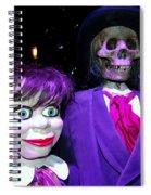 Purple Pose Spiral Notebook