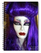 Purple Princess Spiral Notebook