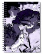 Purple Roses Spiral Notebook