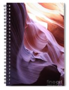 Purple Sandstone Spiral Notebook
