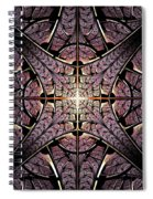 Purple Shield Spiral Notebook