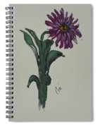 Purple Simplicity Spiral Notebook