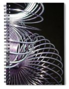 Purple Slinky Spiral Notebook