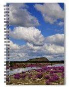 Purple Spring Spiral Notebook