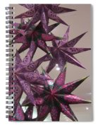 Purple Star Spiral Notebook