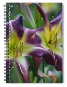 Purple Stargazers Spiral Notebook