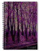 Purple Trees Spiral Notebook