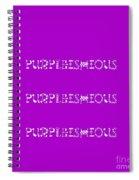 Purpleishious Spiral Notebook