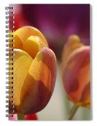Purpleyellowtulips7016 Spiral Notebook