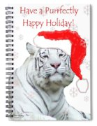 Purrfect Holiday Spiral Notebook