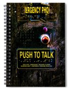 Push To Talk Spiral Notebook