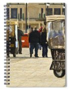 Pushing The Cart Again In Margaritaville Spiral Notebook